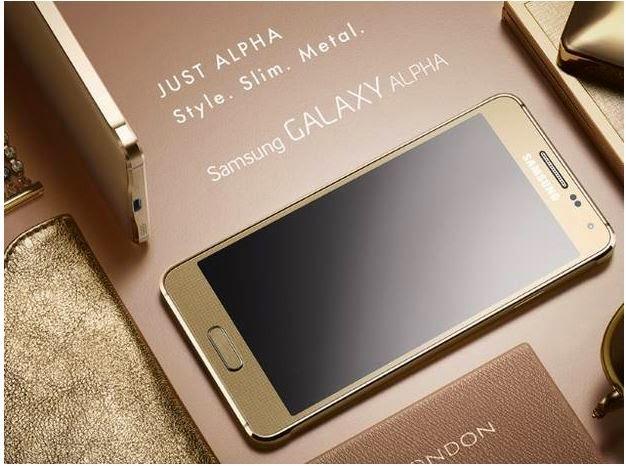 Samsung Galaxy Alpha Metal Framed Smartphone