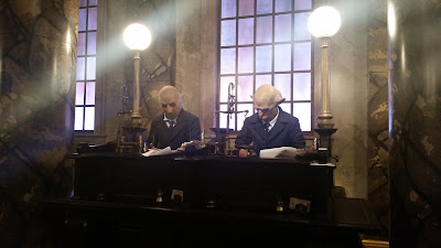 Gringotts goblins working
