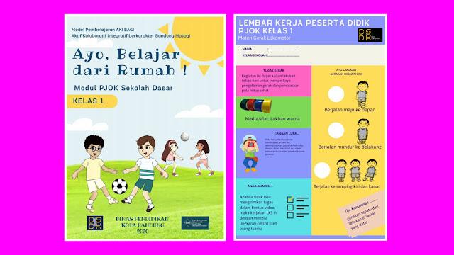Modul PJOK SD Kelas 1 hingga Kelas 6
