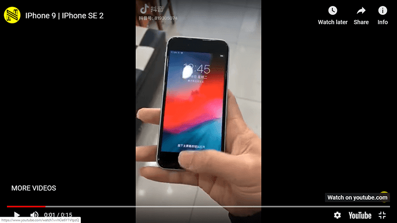 Alleged Apple iPhone 9 hands-on video surfaces online