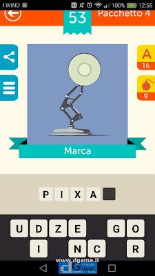 Iconica Italia Pop Logo Quiz soluzione pacchetto 4 livelli 53-75
