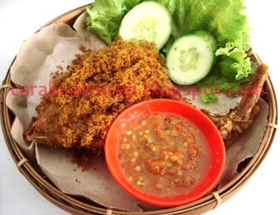 Cara Membuat Ayam Goreng Serundeng Kelapa Resep Masakan Indonesia