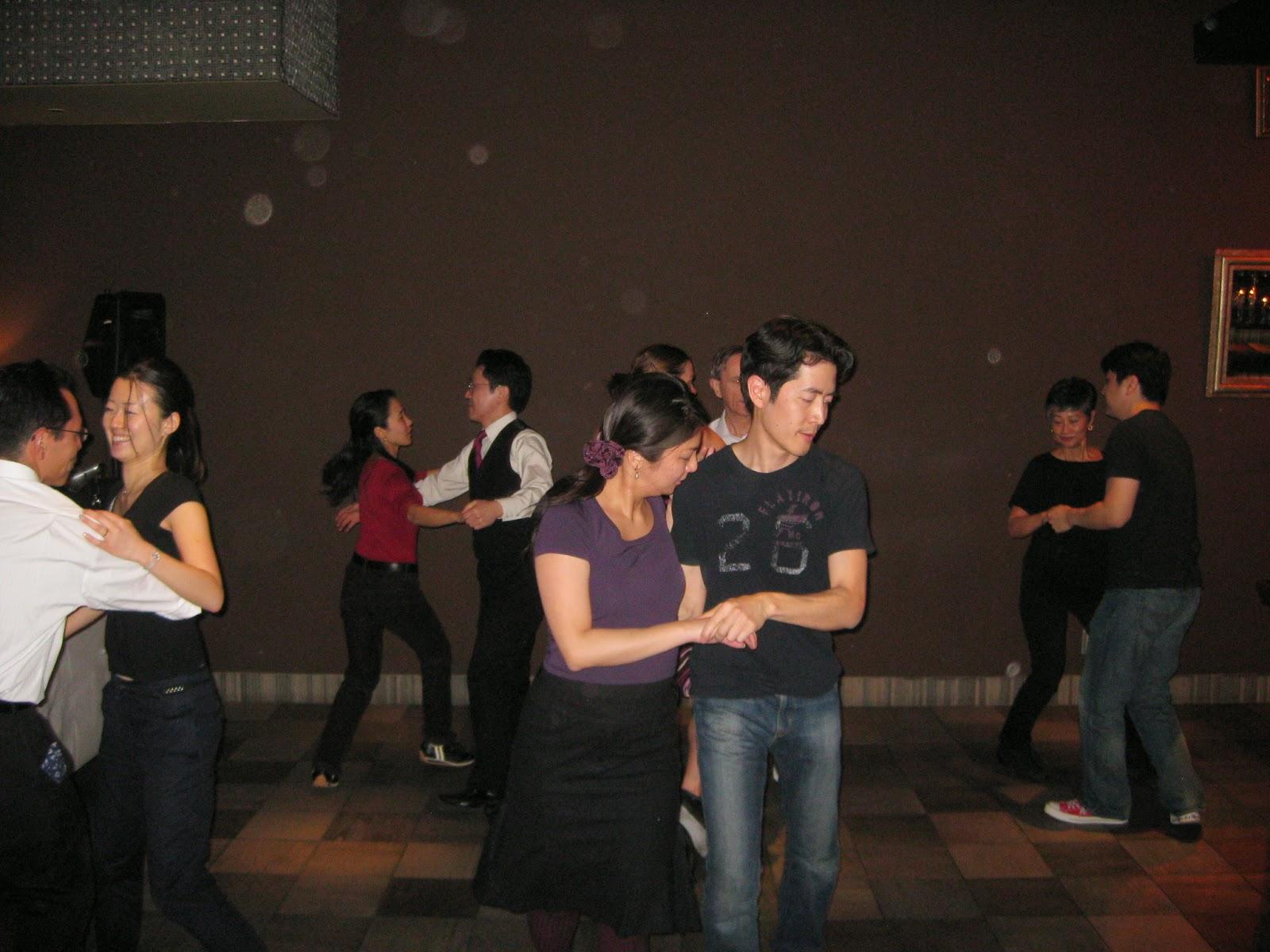 Tokyo - Swing dancing at Tokyo Salon