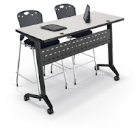 MooreCo Standing Height Training Table