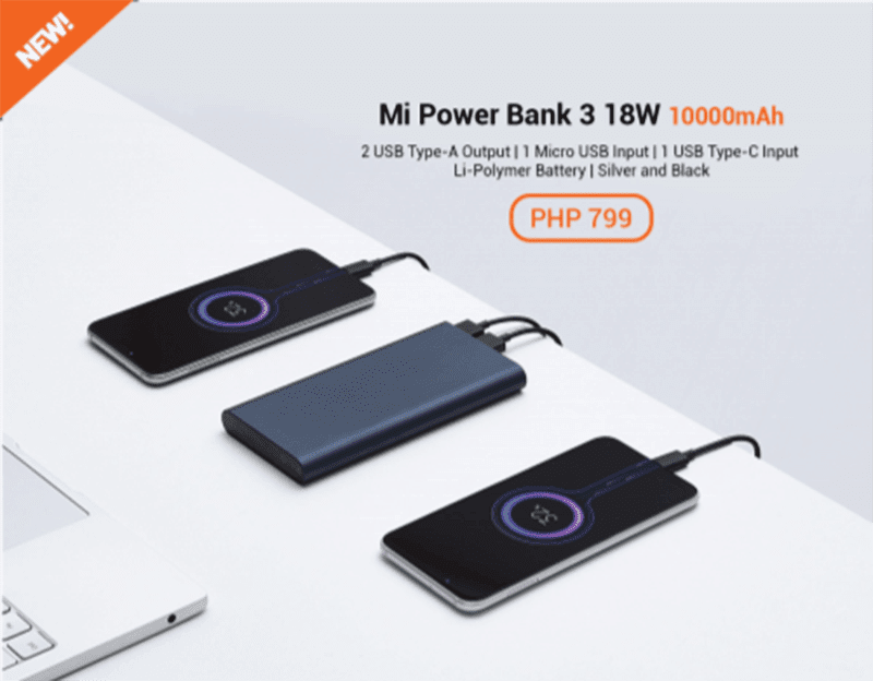 Mi Power Bank 3 18W 10000mAh