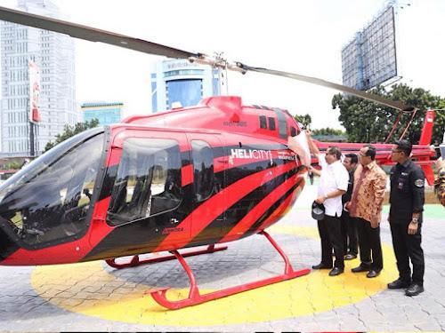 Layanan wisata ke Bandung dengan Helicity