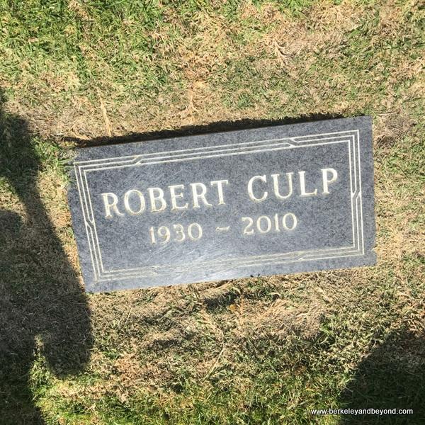 Robert Culp gravesite at Sunset View Cemetery in El Cerrito, California