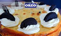 cheesecake con galletas oreo
