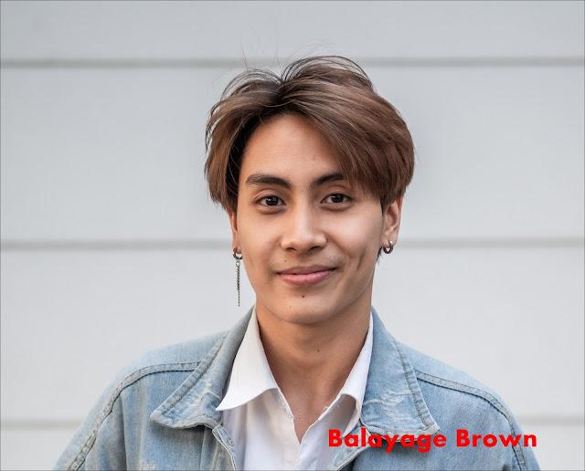Model warna rambut coklat terang untuk pria yang bagus