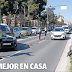 La Policía controla en Logroño que se cumpla el confinamiento, que ya está en vigor