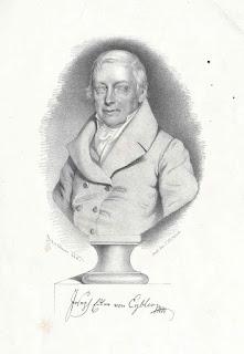 Joseph von Eybler, Litografía de Johann Stadler, 1846.