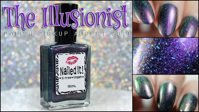 Nailed It Nail Polish The Illusionist | Polish Pickup August 2019