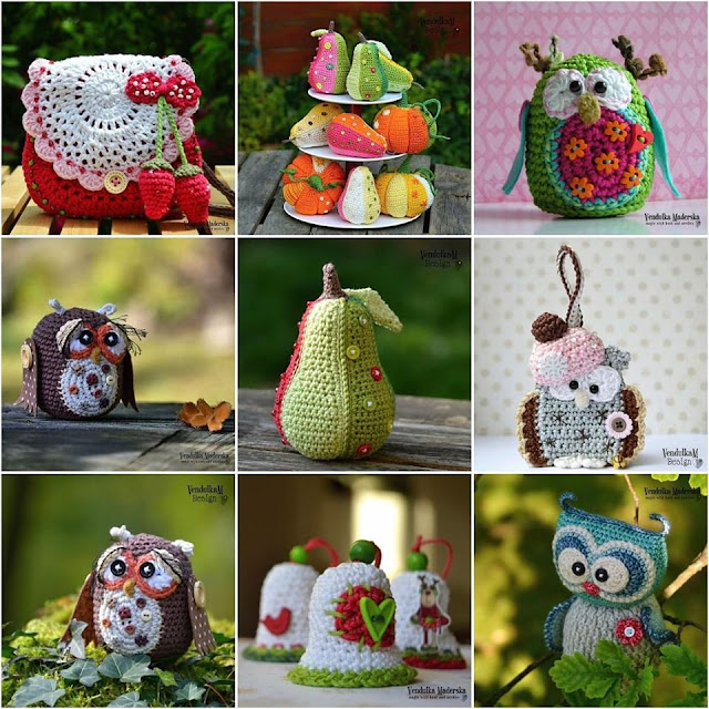 Crochet creations of Vendula Maderska