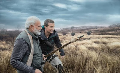 PM Modi to appear in special episode of Man vs Wild on Discovery with Bear Grylls