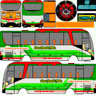 Download Livery Bus Simulator Indonesia Terkeren