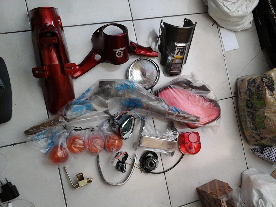 Lapak Asesoris Honda C70 Surabaya