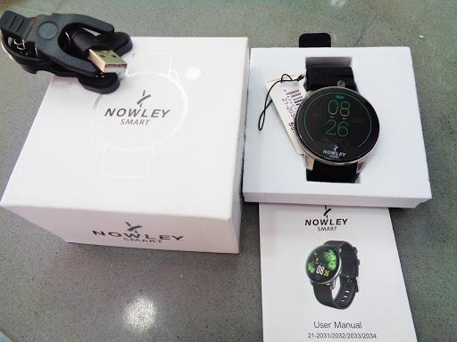 Reloj inteligente Nowley, con todas las funciones imaginables