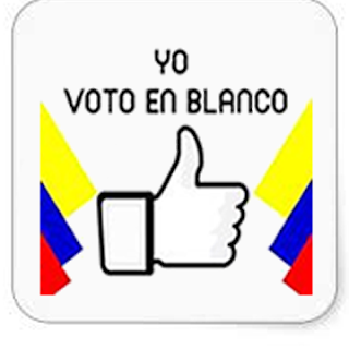 Could Voto En Blanco win Colombia's 2018 presidential election?!