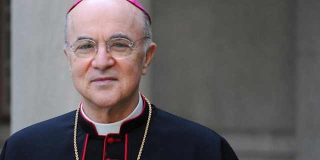 Powerful letter Archbishop Viganò's wrote to President Trump