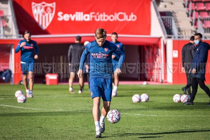 Fotogalería | Entrenamiento Sevilla FC 1-12-20