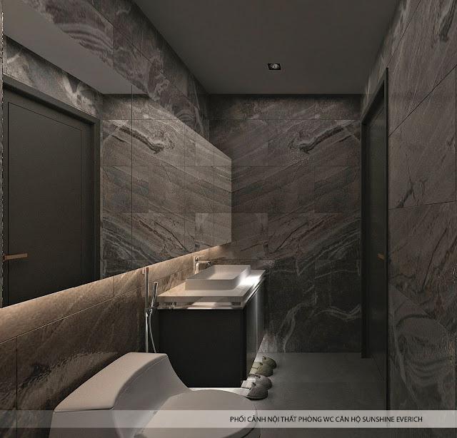 Hình ảnh nội thất căn hộ dự án chung cư  Sunshine Golden River Ciputra Phú Thượng Tây Hồ