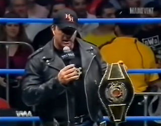 WWA The Inception 2001 - Bret 'The Hitman' Hart reveals the WWA Championship