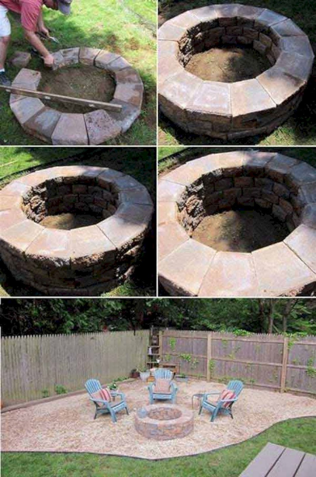 DIY Fire Pit Ideas and Tutorials for your Backyard