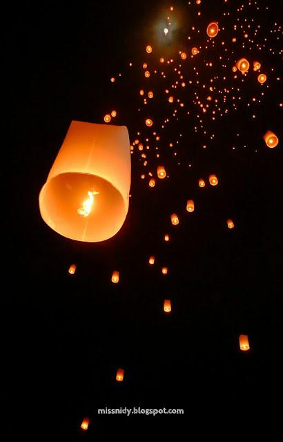 lantern festival in southeast asia