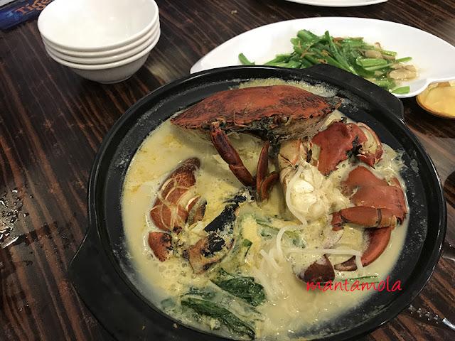 Crab beehoon, crab noodle