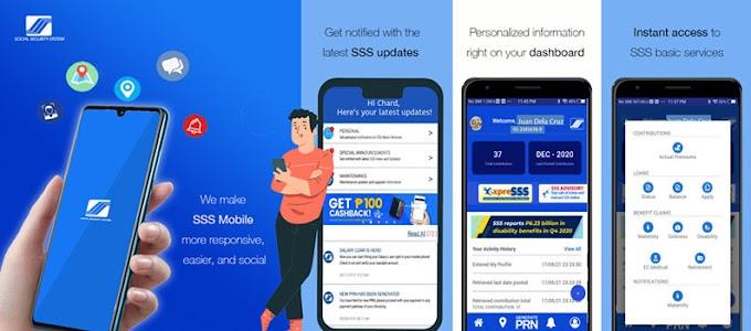 Latest SSS Mobile App version