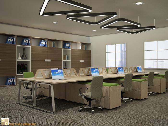 Chọn màu sắc khi thiết kế văn phòng