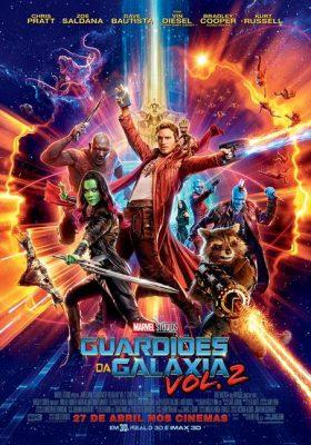 Filme Poster Guardiões da Galáxia Vol. 2