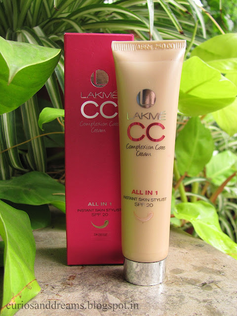 lakme cc cream review