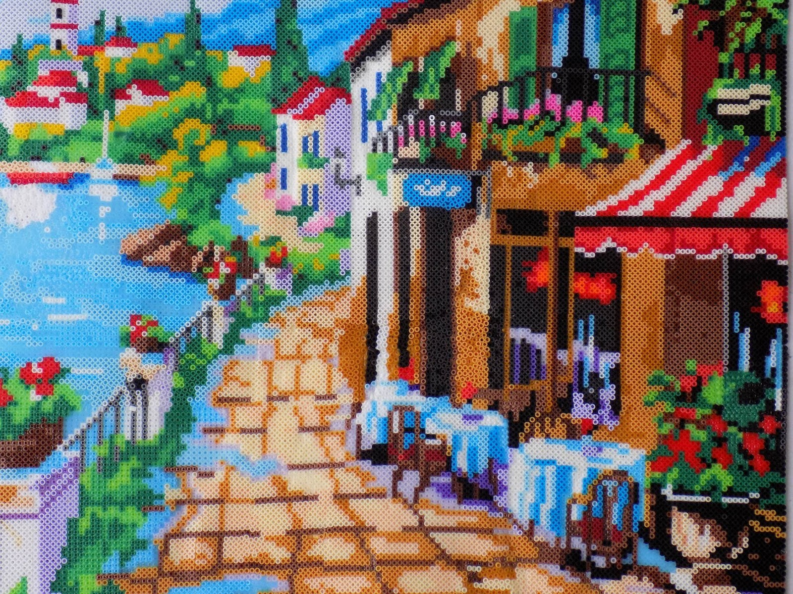 Art And Tips From A Perler Mini Bead Master House Of Geekiness