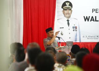 Pengarahan Umum Walikota Tarakan