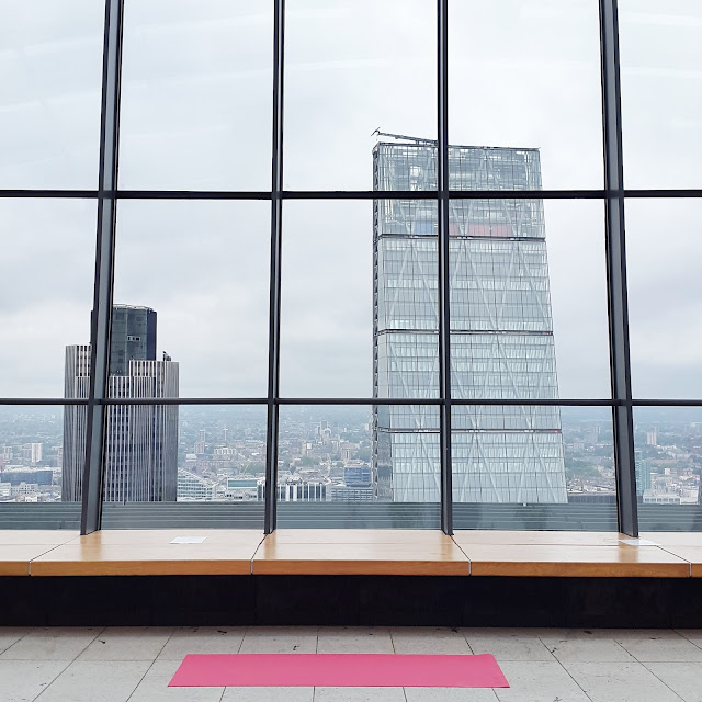 yoga at the sky garden
