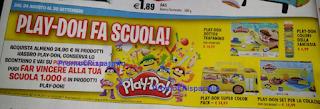 Logo Fai vincere alla tua scuola 1.000 € in prodotti Play-Doh