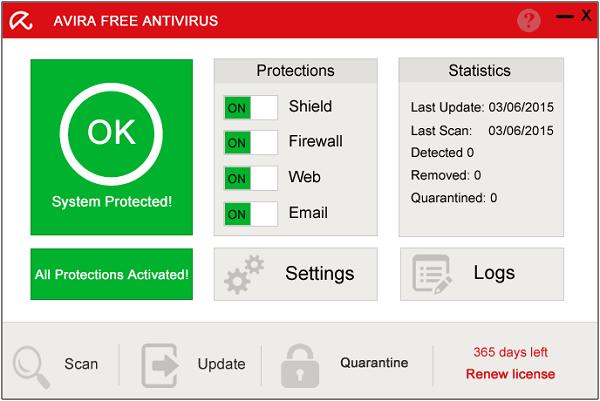 برامج مكافحة الفيروسات برنامج Avira Antivirus Pro 2016