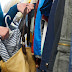 EASTERN CAPE - SHOPLIFTERS CAUGHT WITH THOUSANDS OF RANDS OF NEW STOLEN CLOTHING OUTSIDE J'BAY SHOPPING MALL