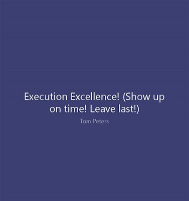 Excellence Execution Quotes