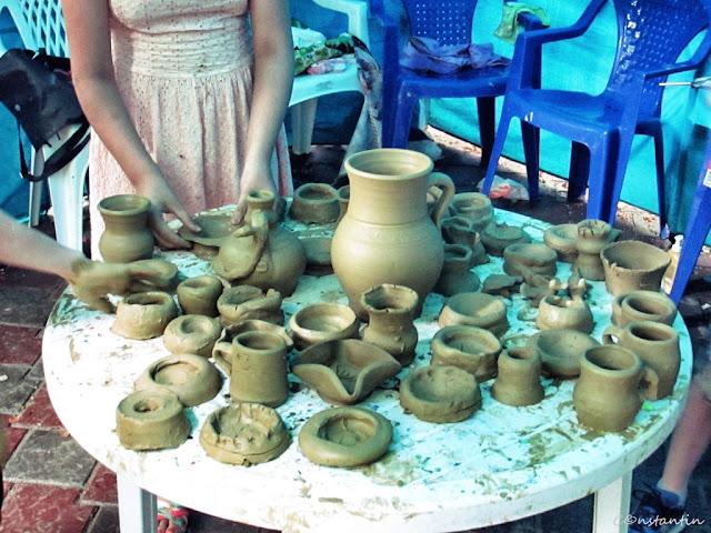 """Tabãra""""Micii meşteri din Copou"""" - atelier modelaj lut - blog FOTO-IDEEA"""