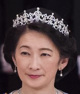 diamond tiara japan princess kiko akishino mikimoto