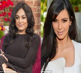 Mujer gasta $34K para parecerse a Kim Kardashian