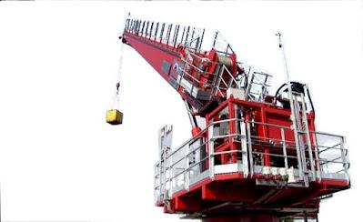 Level-luffing crane