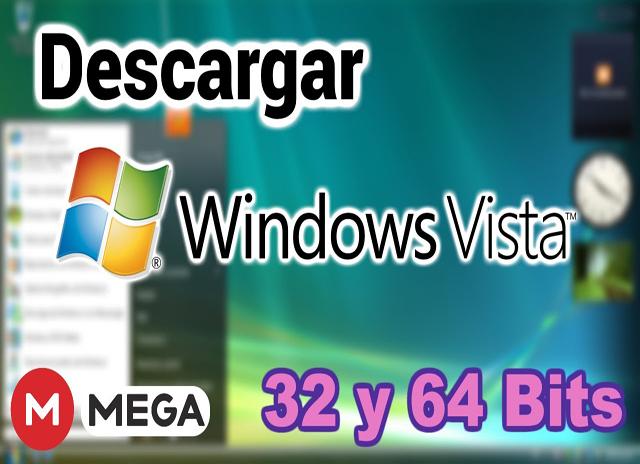 ✅ Windows Vista SP2 (X32 - X64 bits) Español [ UL - FF] Windows-vista
