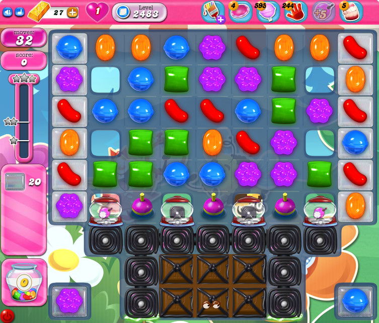 Candy Crush Saga level 2483