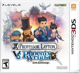 Rom Professor Layton Vs Phoenix Wright 3DS