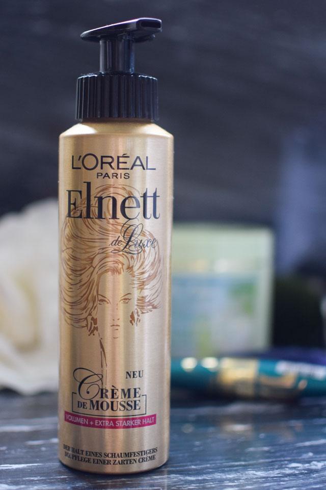 L'Oréal Elnett Creme de Mousse, neuer Schaumfestiger