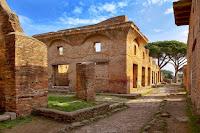Insula conocida como la Casa de Diana, en Ostia