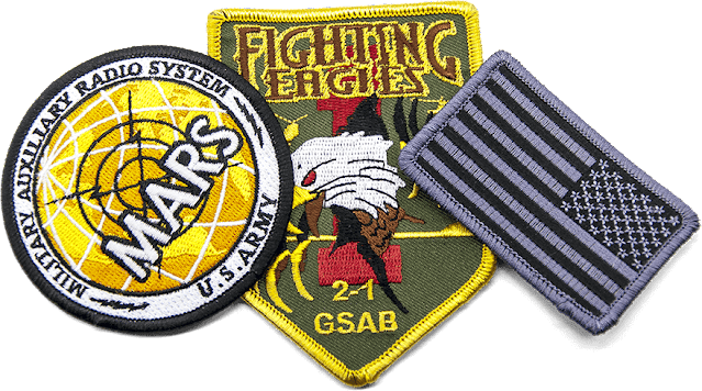 Custom Printed Iron ON Patches